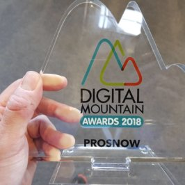 The Jury's Special Prize for PROSNOW at the 2018 Digital Mountain Awards