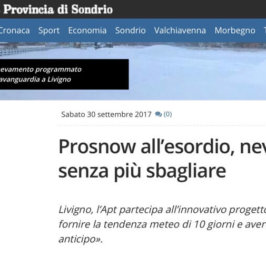 PROSNOW in the news
